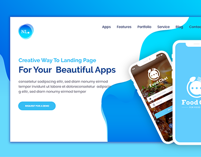 NL App Landing Page