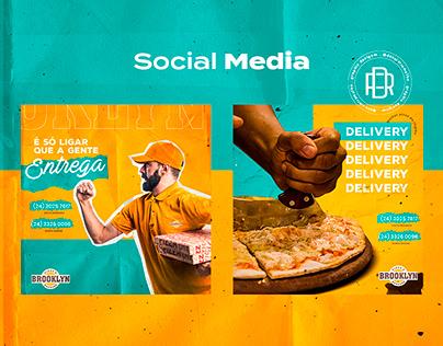 Social Media 2019 - Brooklyn Pizza e Burguer
