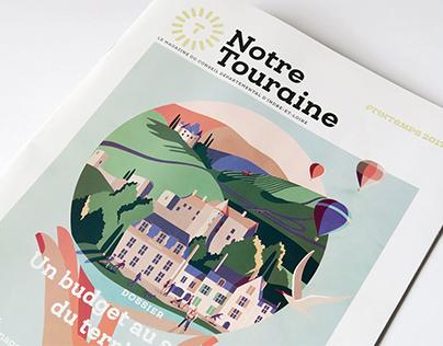Notre Touraine - illustrations