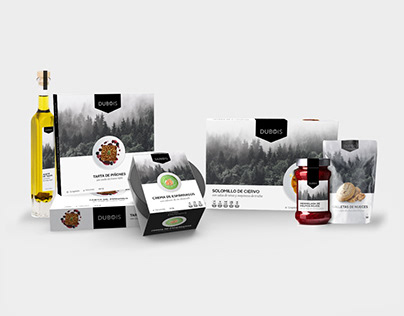 DUBOIS // Packaging gourmet