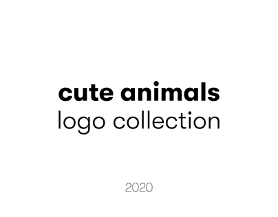 CUTE ANIMALS LOGO COLLECTION 2020