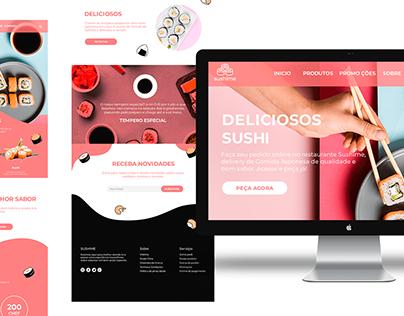 Interface web site