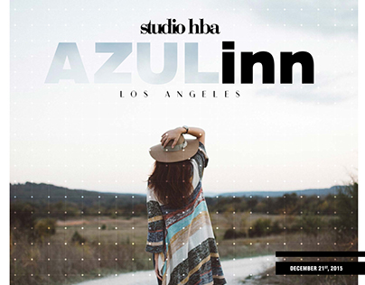 Azul Inn Interior Design Concept Presentation