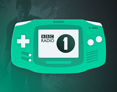 BBC Radio One - Cinematic Gaming Motion Infographic