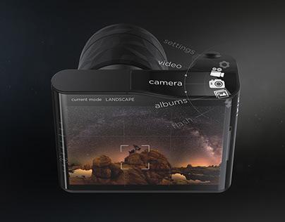 IRIS gyroscopic camera concept