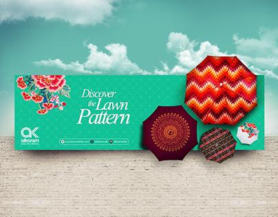 AlKaram - Discover the Lawn Pattern Campaign Design.