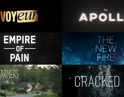Opening Titles Examples