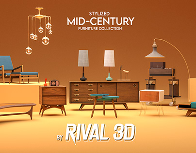 Mid Century Furniture Collection