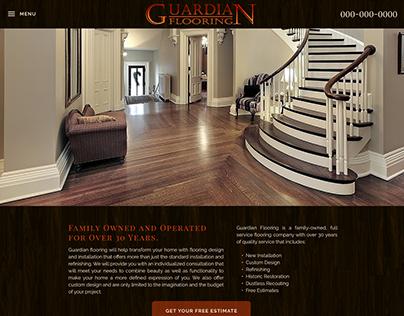 Guardian Flooring Website Design & Development
