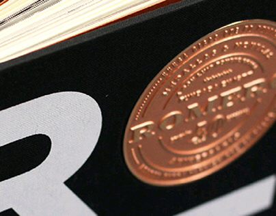 Medallas y Monedas Romero. Book design
