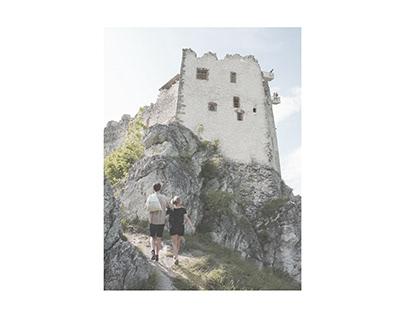 Hrad Uhrovec - kaplnka / Uhrovec Castle - chapel