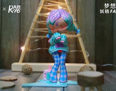 燃·野工作室涂装:梦想树-妖精FAIRY.J