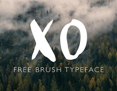 XO Brush Typeface