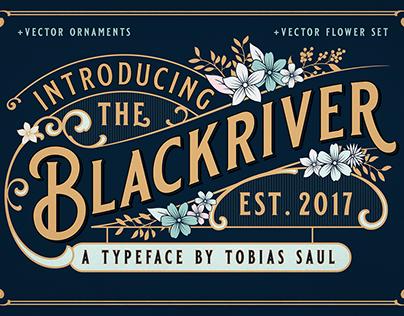 Blackriver Font