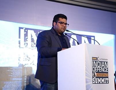 Kartikeya Sharma at Indian Defence & Aerospace Summit