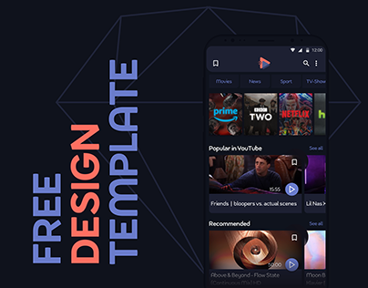 Free Design Template for Android
