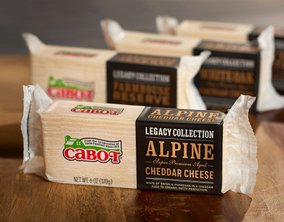 Cabot Legacy Cheese Packaging