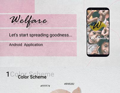 Welfare Android App Presentation
