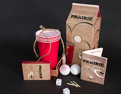 Little Games on the Prairie - Travel Kit