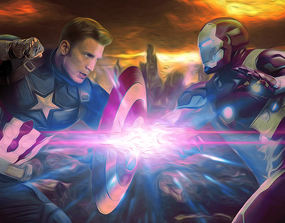Civil War/Capitan America&Iron Man