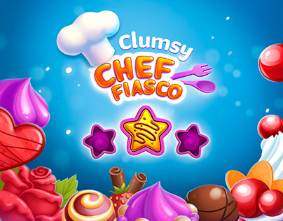 Clumsy Chef Fiasco - Game UI design