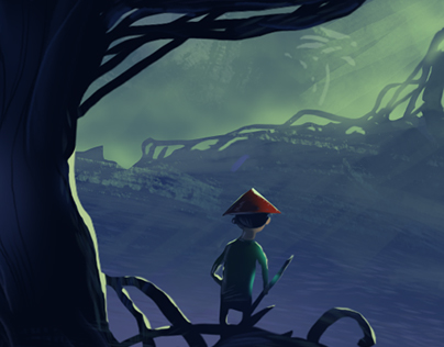 Alone in Dark forest