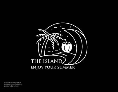 Monoline Island Logo