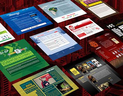 Hotsites FIESP CIESP SESI SENAI   2009 - 2014