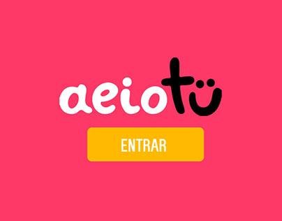 AEIOTU - Plataforma interactiva
