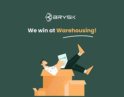 Brysk - Warehouse management