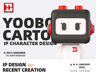 Yooboy——悦创积木卡通IP形象