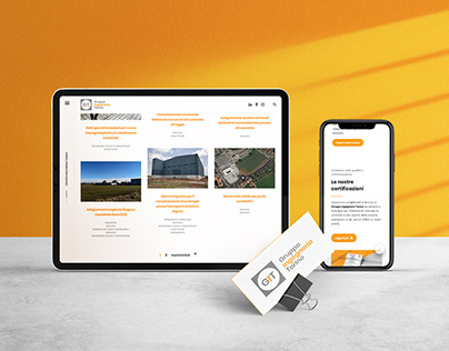 GRUPPO INGEGNERIA TORINO . Branding & Website