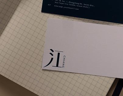 江CHIANG 設計工作室