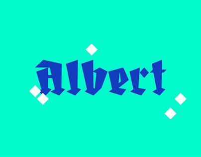 Albert | Type Design