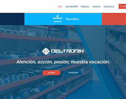 Diseño Web Del-Tronix