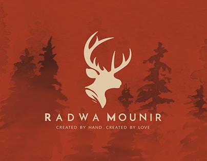 """"""" Radwa Mounir Designs """" Branding"""