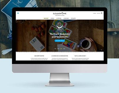 Eloquentiâme - Webdesign