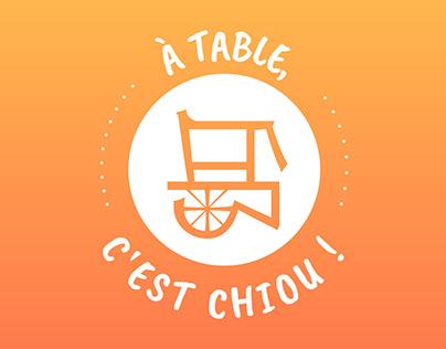 À table, c'est Chiou !