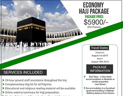 Economy Hajj Package