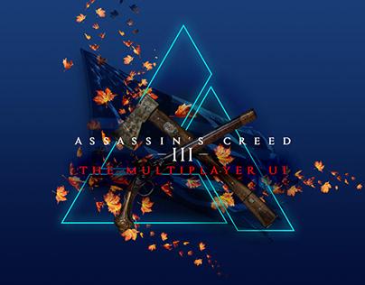 Assassin's Creed III : le design de l'UI