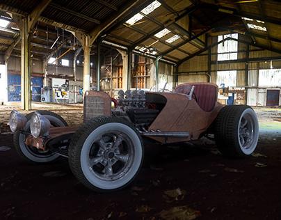 1930's Mercedes ssk - Ratrod