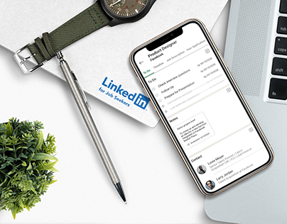 UX Concept Case Study: LinkedIn for Job Seekers