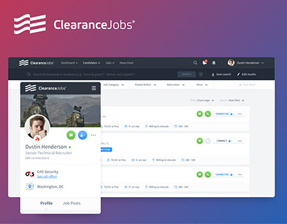 ClearanceJobs・Security Jobs Network