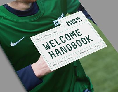 Football Radar Welcome Handbook