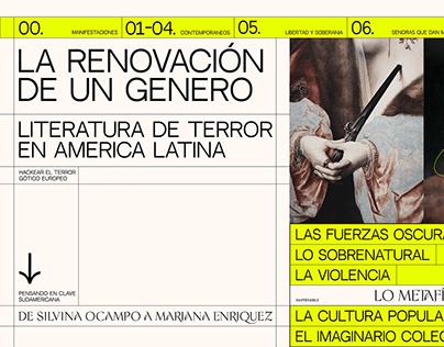 Enciclopedia de la literatura de terror