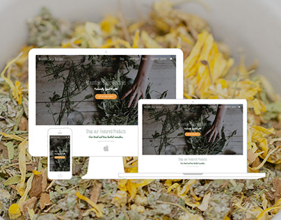 Mountain Sage Herbals E-Commerce Website