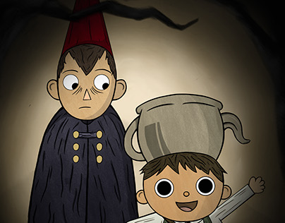 Over the garden wall Fan art