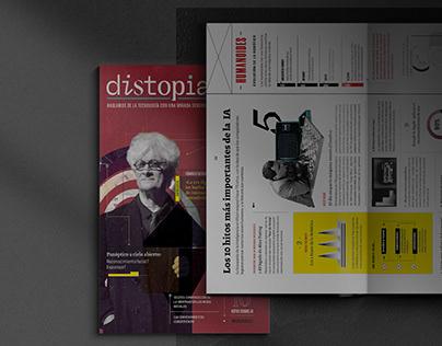 Distopia – Issue No. 01 / Editorial Project