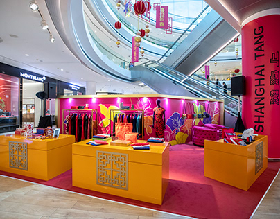 Shanghai Tang Pop Up Store (2020)