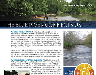 Blue River Report Card